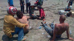 Suman 29 muertos por naufragio en Indonesia