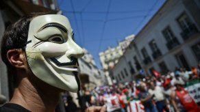 Anonymous Portugal ataca webs de policía