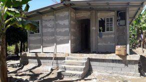 Construyen 42 soluciones habitacionales en Alanje y Barú para familias afectadas por el huracán ETA