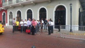 Transportistas se retiran de mesa de trabajo en la Presidencia