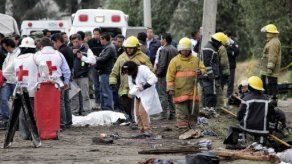 Once muertos en México por explosión de material pirotécnico