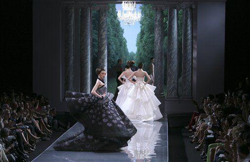Vogue inspira elegante colección de Christian Dior
