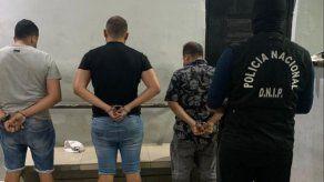 Entre los detenidos por los dispositivos en cajeros hay dos extranjeros y un panameño.