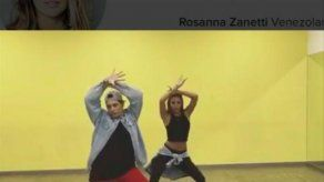 Rosanna Zanetti celebra el lanzamiento del nuevo disco de Bisbal bailando