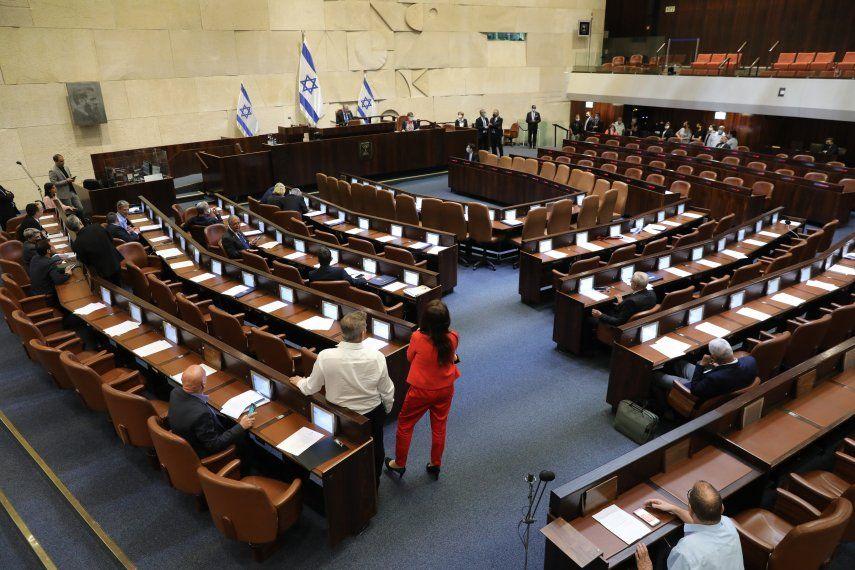 El Parlamento de Israelse reunió esta tarde en una sesión plenaria donde su presidente