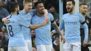 El City vapulea a Burnley en la Copa FA