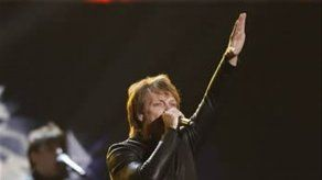 Bon Jovi interrumpió por una alergia su primer concierto en Bulgaria