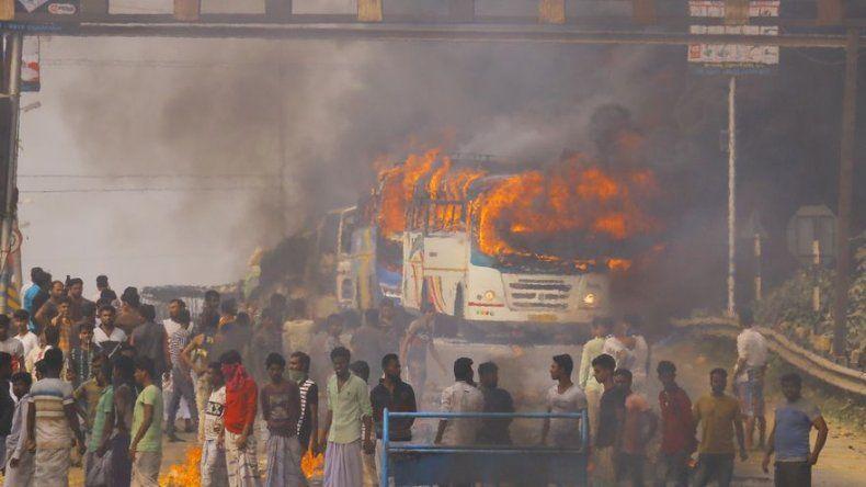 Siguen las protestas en India contra polémica ley de ciudadanía