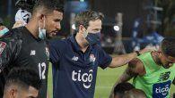 Thomas Christiansen luego de la victoria contra República Dominicana en el último partido de la primera fase de eliminatorias de Concacaf rumbo a Qatar 2022.