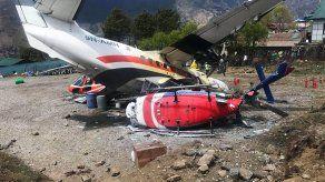 Tres muertos en un accidente de avión cerca del Everest