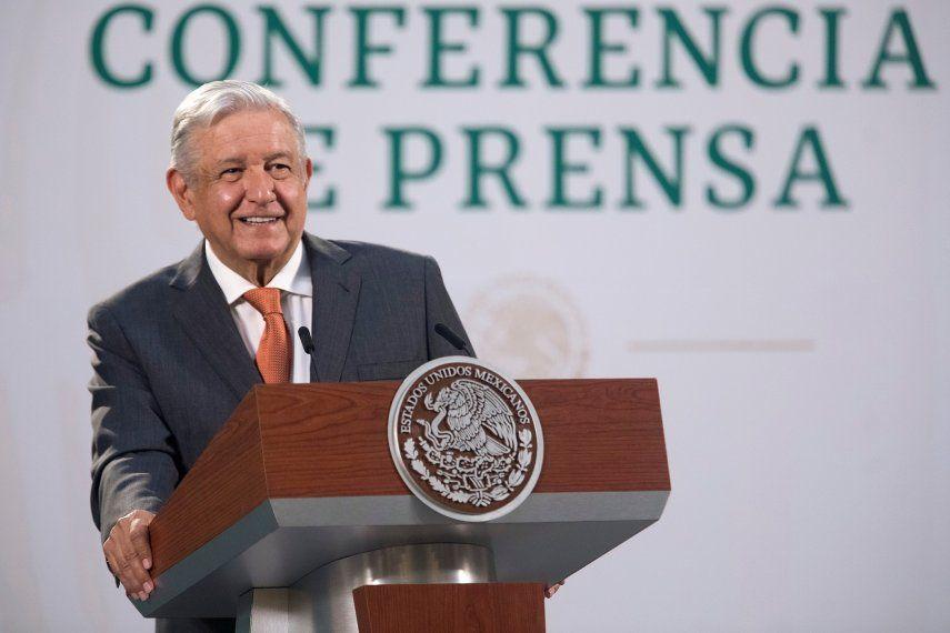 Eel presidente de México