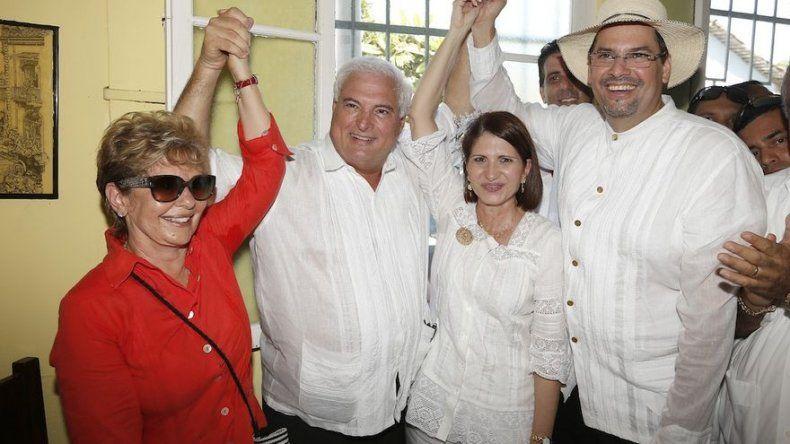 CD y Molirena ratifican a Marta Linares como candidata a la vicepresidencia