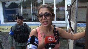 Operativo policial en edificio Plaza Valencia en busca de indocumentados