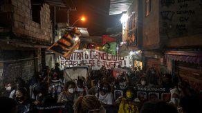 Según datos del Instituto de Seguridad Pública, la policía de Rio fue responsable de la muerte de 453 personas entre enero y marzo de este año.