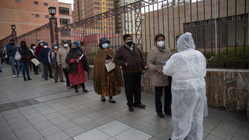 Los hospitales están saturados en varias ciudades