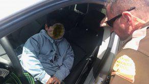 La policía de Utah sorprende a un niño de 5 años al volante