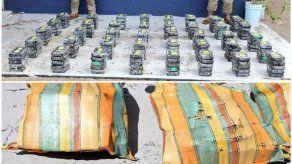 Incautan 200 paquetes de droga en el Archipiélago de las Perlas