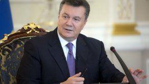 El presidente ucraniano