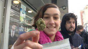Farmacias de Montevideo agotan existencia de marihuana en primer día de venta