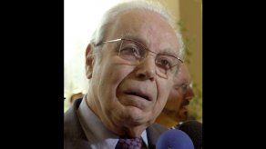 Fallece Pérez de Cuéllar