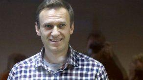 Navalny atribuye pérdida de peso a condiciones en prisión