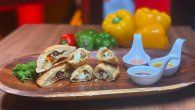 Receta de la Zambita y Poveda : Empanada de pollo, puerco y camarón