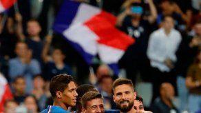 Francia derrota 3-0 a Andorra y se mantiene líder del grupo H