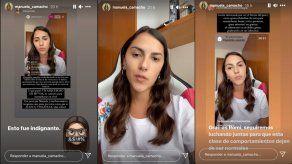 Manuela Camacho en Instagram