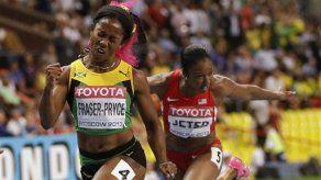Fraser-Pryce arrasa en los 100 femeninos