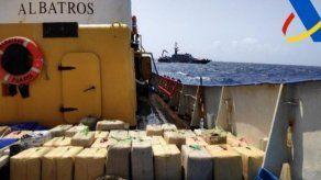 Barco con bandera panameña es retenido en España con 18 toneladas de hachís