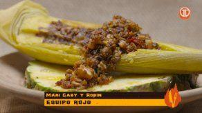 Receta: Bollo de maíz nuevo con relleno de pulpo