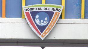 El Hospital del Niño mantiene recluidos a dos menores en condición grave a causa del COVID-19.