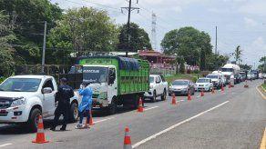 Más de 160 vehículos han sido retornados del cerco sanitario de El Lago de Capira