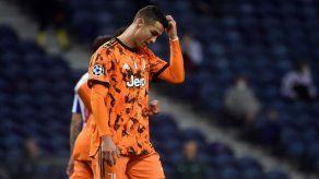 La Juventus pierde 2-1 en Oporto pero deja abierta la eliminatoria