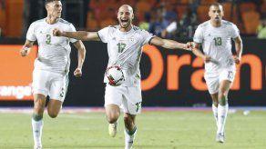 Argelia se corona en Copa Africana al vencer 1-0 a Senegal