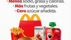 McDonalds anuncia nuevos cambios nutricionales  en la Cajita Feliz