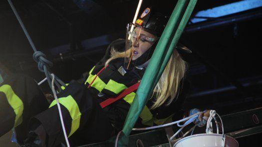 Stefany Amaro se enfrentó a su más grande fobia en Fuego vs. Fuego