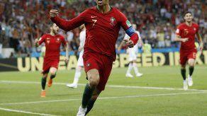 Cristiano Ronaldo marca triplete a España en el Mundial