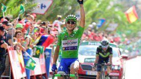 Matteo Trentin ganó la décima etapa de la Vuelta