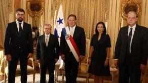 Varela recibió cartas credenciales de embajadores de Egipto