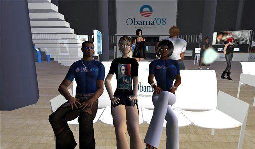 El mundo virtual también celebra el triunfo de Obama