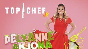 Delyanne Arjona es la gran presentadora de Top Chef Jr