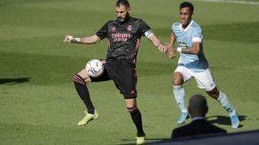 El Real Madrid se impone 3-1 al Celta con doblete de Benzema