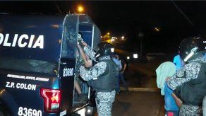 Gabriel Medina, dice que han triplicado en Colón la cantidad de detenciones tras la ola de violencia que se vive en la Costa Atlántica.