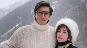 Lady Gaga y Adam Driver ruedan en Italia tras críticas de los Gucci