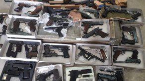 Interpol incautó miles de armas ilícitas.
