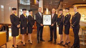 Lufthansa se convierte en la única aerolínea 5 estrellas en Europa