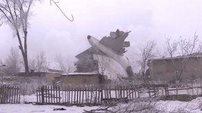 Accidente de avión de carga causa 37 muertos en Kirguistán