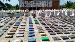Incautadas ocho toneladas de cocaína atribuidas al Clan Úsuga en Colombia