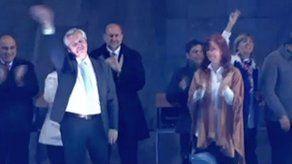 Alberto Fernández llama a argentinos a votar para cambiar el rumbo